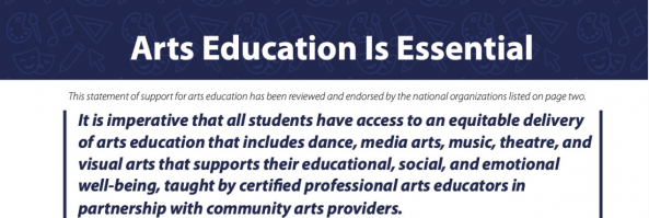 Arts Education Is Essential